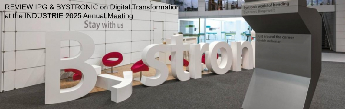 "SUCCESS CASE ""BYSTRONIC DIGITAL TRANSFORMATION"""
